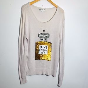 Wildfox Love Potion Sweater Size Small